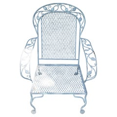 Classic High Quality Salterini Wrought Iron Garden Chair