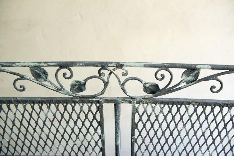 Classic High Quality Wrought Iron Salterini Sofa 7