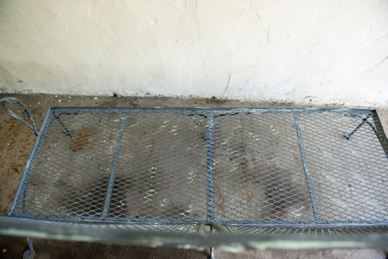 Classic High Quality Wrought Iron Salterini Sofa 9