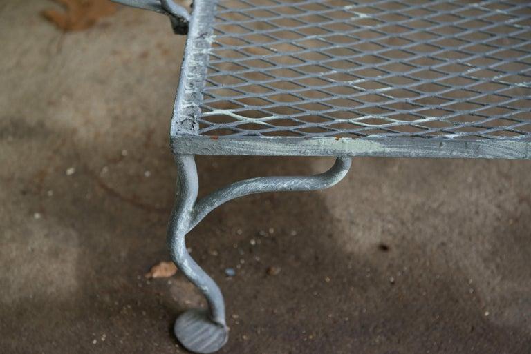 Classic High Quality Wrought Iron Salterini Sofa 3
