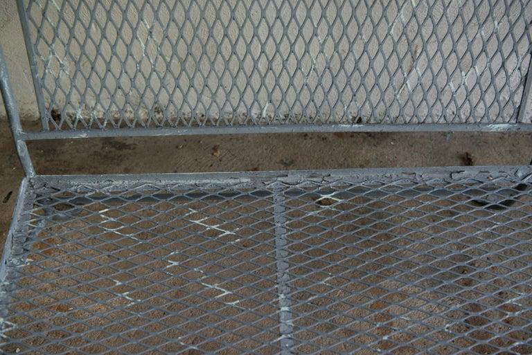 Classic High Quality Wrought Iron Salterini Sofa 4