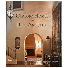 Classic Homes of Los Angeles by Douglas Woods, 2010 Coffee Table Book