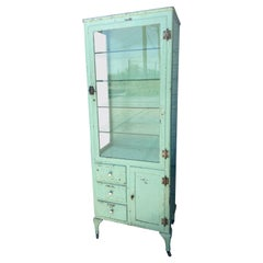 Classic Industrial / Architectural Medical, Dr's Cabinet, Storage, Display