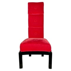 Classic James Mont Tall Back Chair
