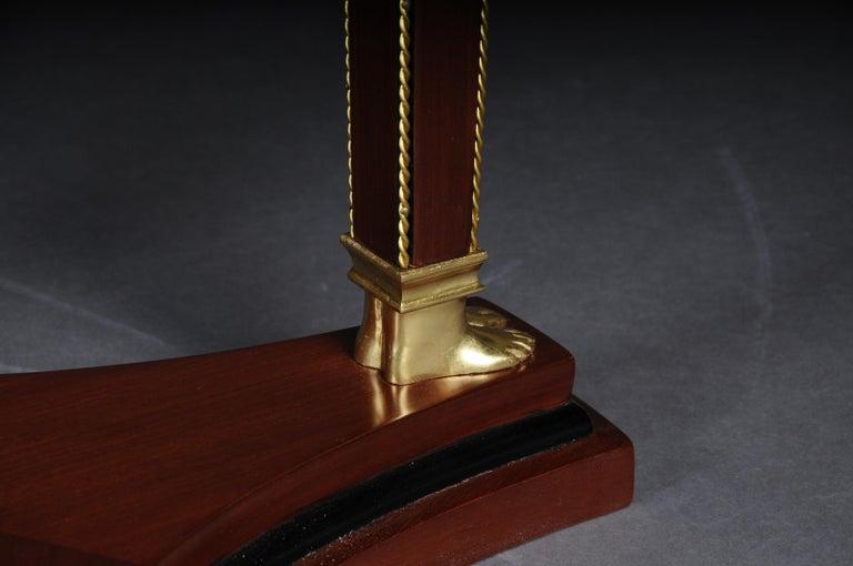 20th Century Classic Karaditan Pillar or Pedestal in Empire Style For Sale