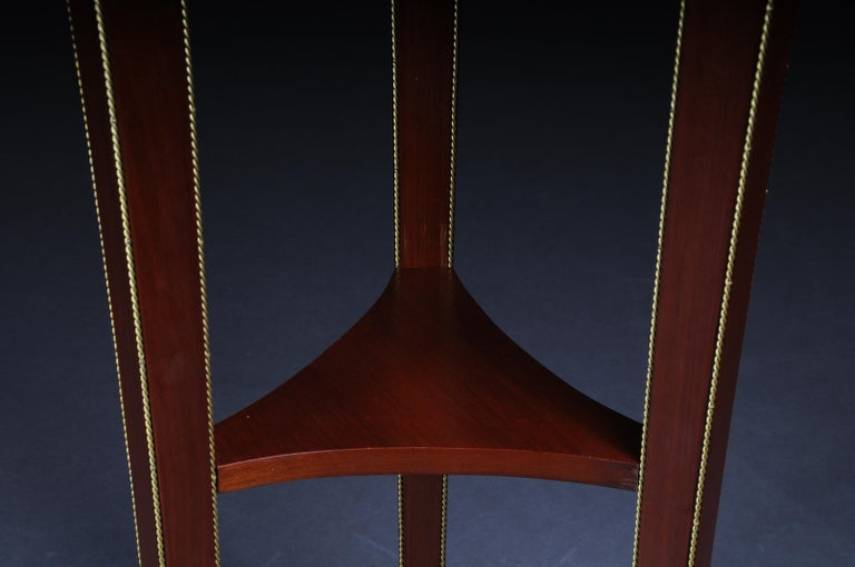 Classic Karaditan Pillar or Pedestal in Empire Style For Sale 1