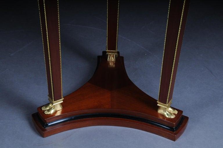 Classic Karaditan Pillar or Pedestal in Empire Style For Sale 2