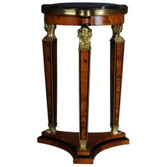 Classic Karates Side Table Pillar in Empire Style