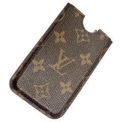 Classic Louis Vuitton Iconic Monogram Cell Phone Case or Holder
