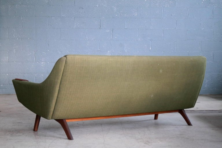 Classic Mid-Century Modern Danish 1950s Sofa in Wool and ...