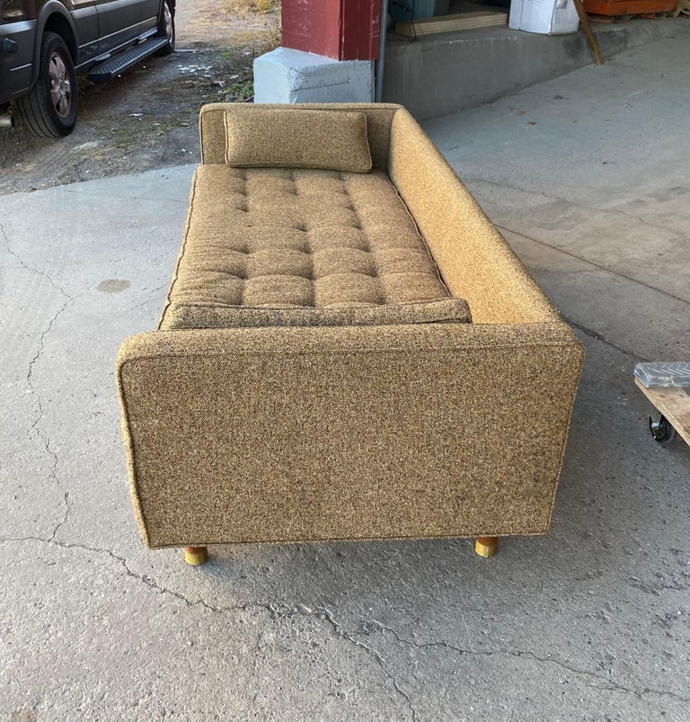American Classic Mid-Century Modern Even Arm Sofa Attributed to Harvey Probber For Sale