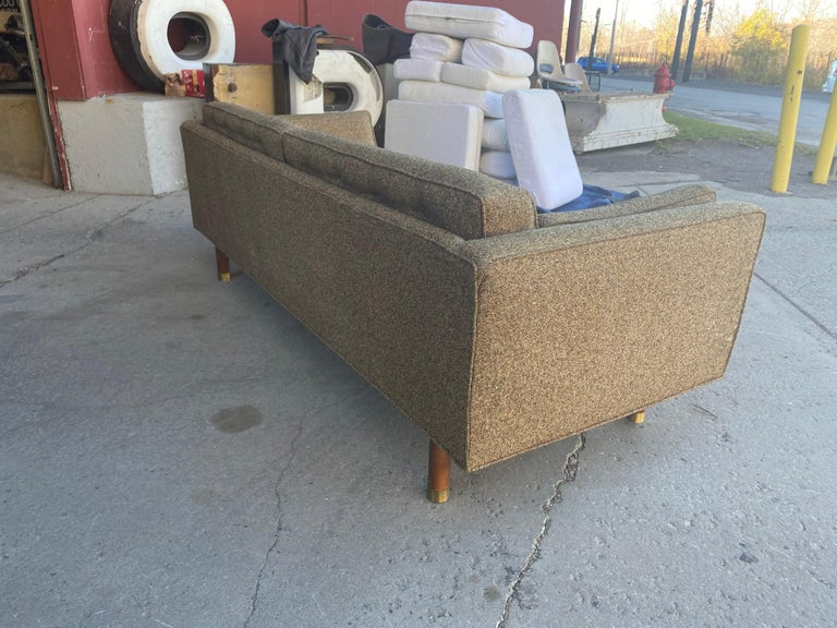 Mid-20th Century Classic Mid-Century Modern Even Arm Sofa Attributed to Harvey Probber For Sale