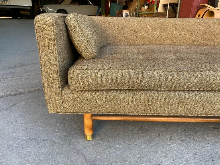 Classic Mid-Century Modern Even Arm Sofa Attributed to Harvey Probber For Sale 2