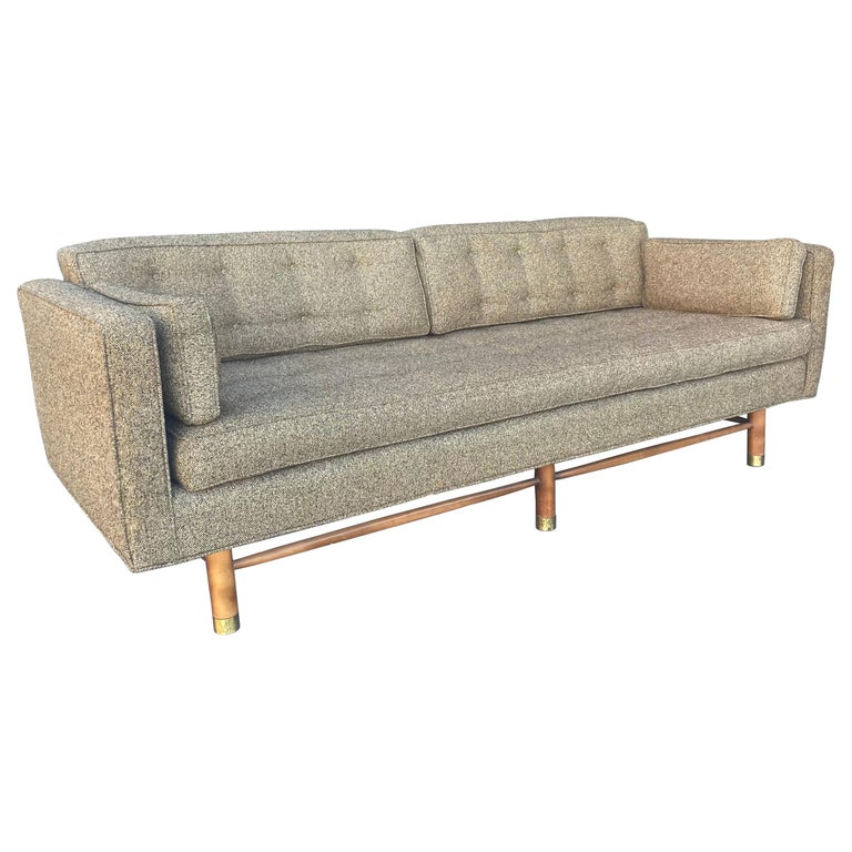 Classic Mid-Century Modern Even Arm Sofa Attributed to Harvey Probber For Sale