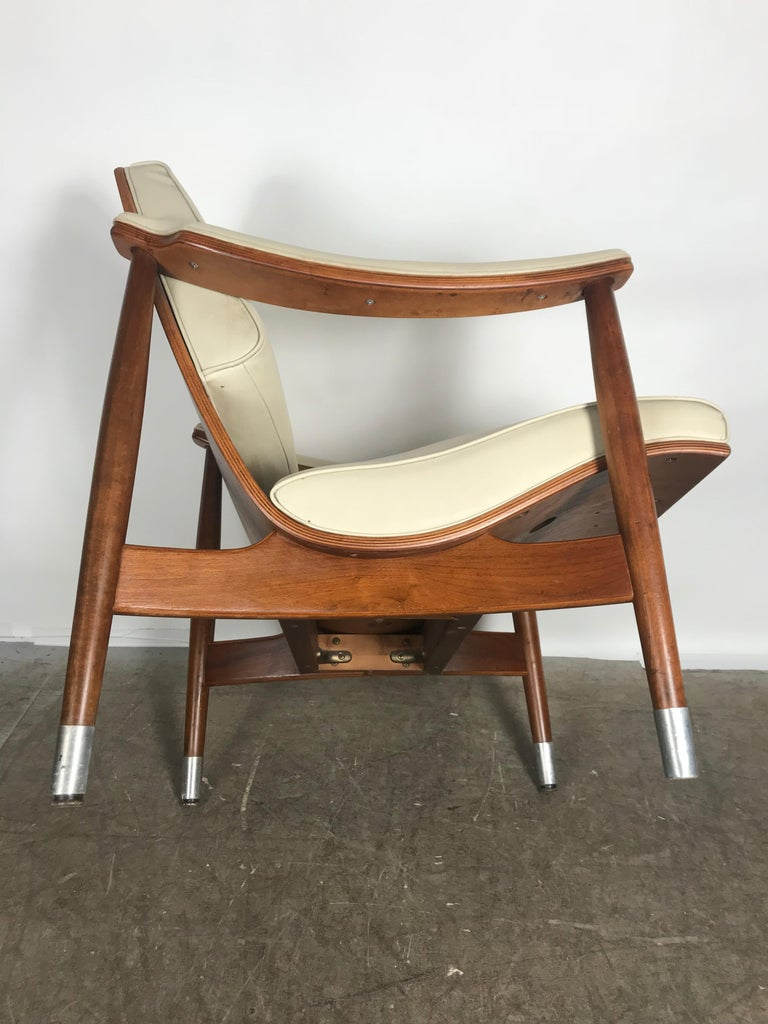 Brilliant Classic Mid Century Modern Plywood Scoop Lounge Chair By Andrewgaddart Wooden Chair Designs For Living Room Andrewgaddartcom