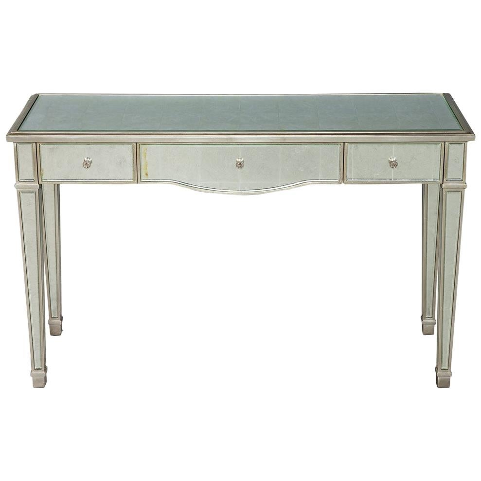 Classic Mirrored Vanity Desk by Lillian August