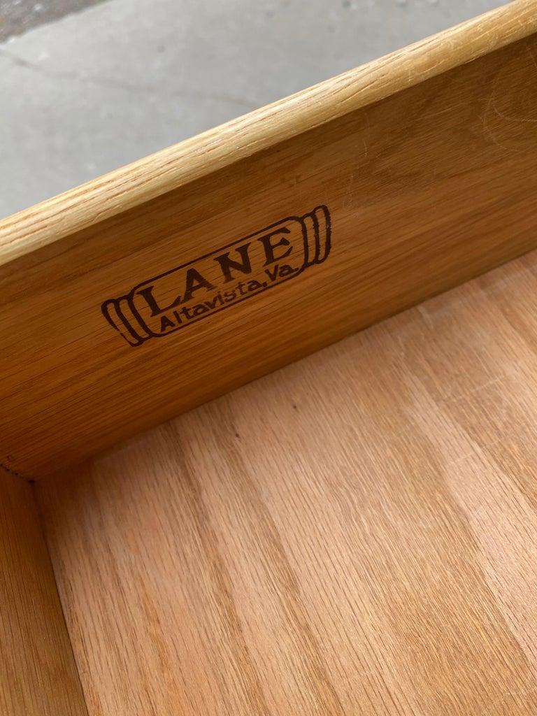 Classic Modernist 12-Drawer Dresser by Lane For Sale 4