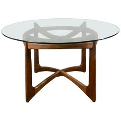 Classic Modernist Adrian Pearsall for Craft Associates Walnut Dining Table