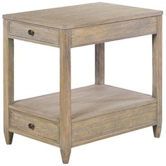 Classic Narrow Side Table, Greyed