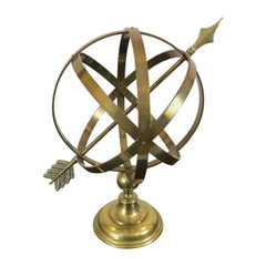 Classic Neoclassical Brass Armillary