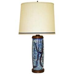 Classic Nils Thorsson Baca Aluminia Royal Copenhagen Table Lamp