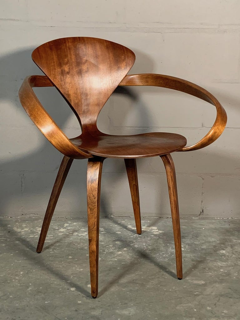 Classic Norman Cherner Armchair for Plycraft For Sale at ...