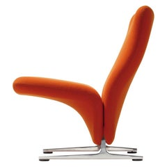 Artifort Classic Orange High Back Concorde Chair by Pierre Paulin