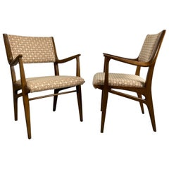 Classic Pair of Modernist Armchairs by John Van Koert for Drexel