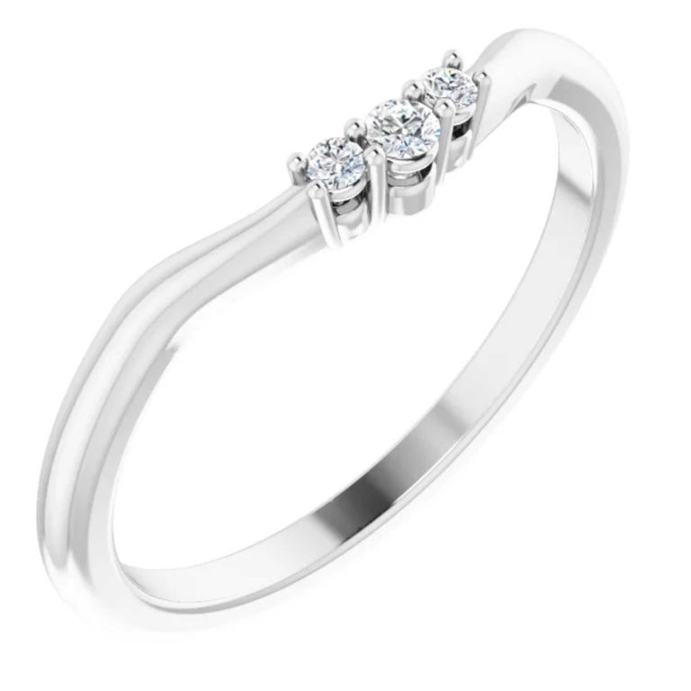 GIA Certified Pear Shape Diamond Round Bridal Engagement Ring Set 18K White Gold For Sale 2