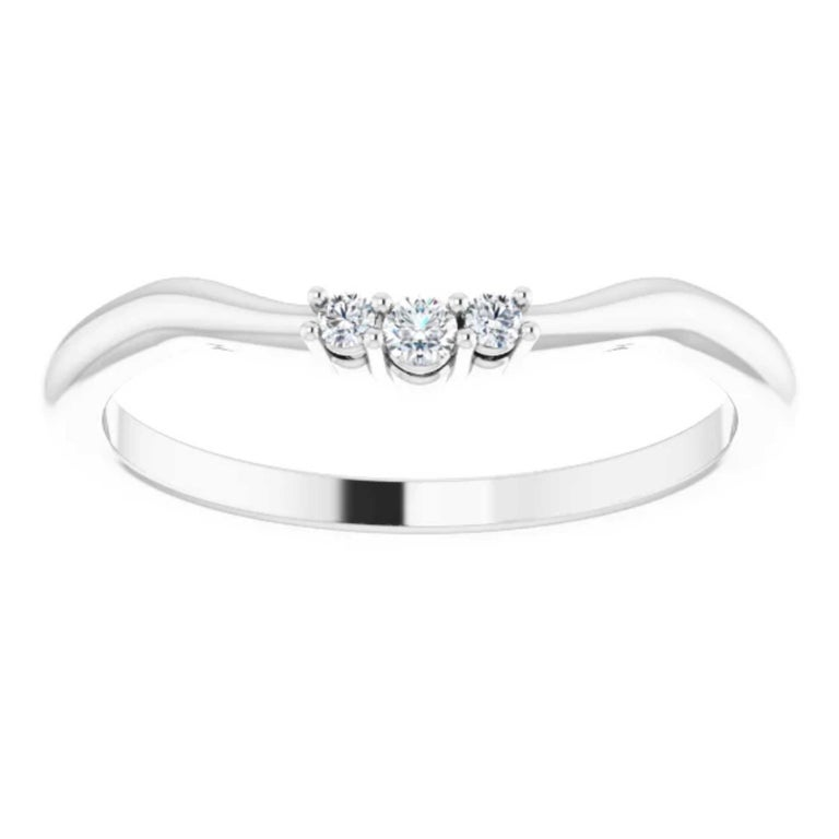 GIA Certified Pear Shape Diamond Round Bridal Engagement Ring Set 18K White Gold For Sale 3