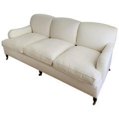 Classic Plush George Smith Sofa