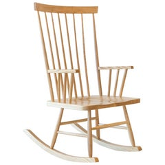 Classic Rocking Chair in Ash by Mel Smilow