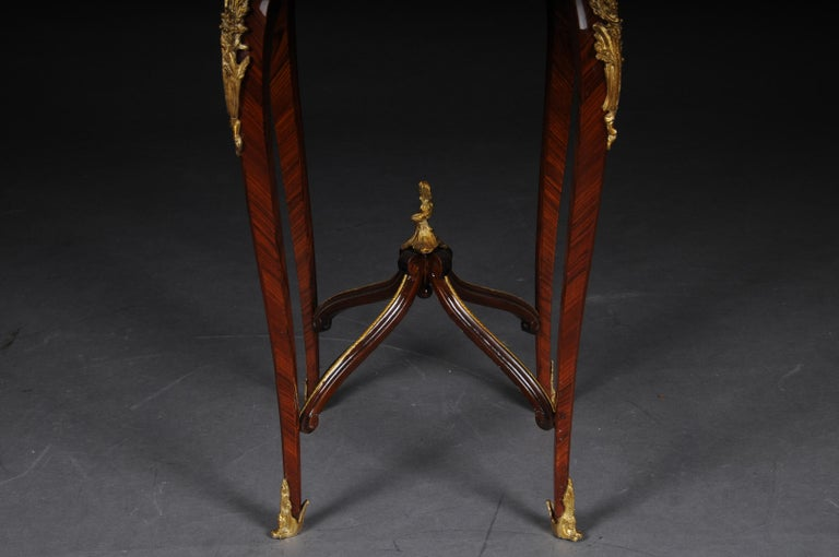 20th Century Classic Saloon Side Table in the Louis XV after F. Linke For Sale