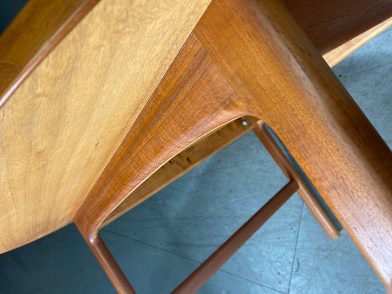 Classic Scandinavian Modern Teak Coffee / Cocktail Table by Folke Ohlsson For Sale 2