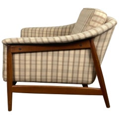 Classic Scandinavian Modernist Teak Lounge Chair by Dux, Sweden