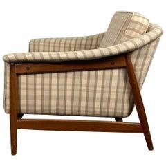 Classic Scandinavian Modernist Teak Lounge Chair by Dux, Sweden