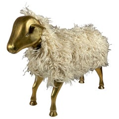 Classic Sheep Ottoman in the Style of Lalanne