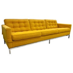 Classic Signed Knoll International Sofa Midcentury Sofa