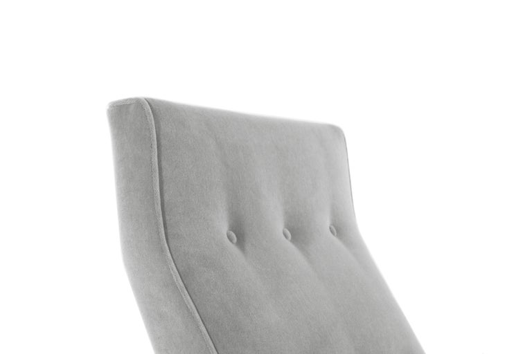 Classic Slipper Chairs by Jens Risom, circa 1950s For Sale 4