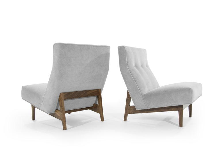 20th Century Classic Slipper Chairs by Jens Risom, circa 1950s For Sale