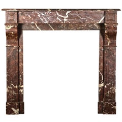 Classic Small Marble Antique Fireplace Surround