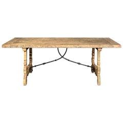 Classic Spanish Trestle Table
