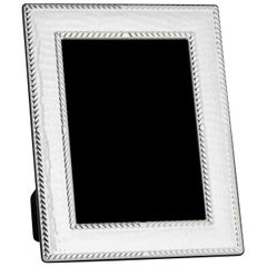 Classic Sterling Silver Frame, Italy 20 x 25 cm