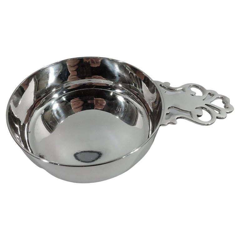 Classic Sterling Silver Porringer by Tiffany For Sale