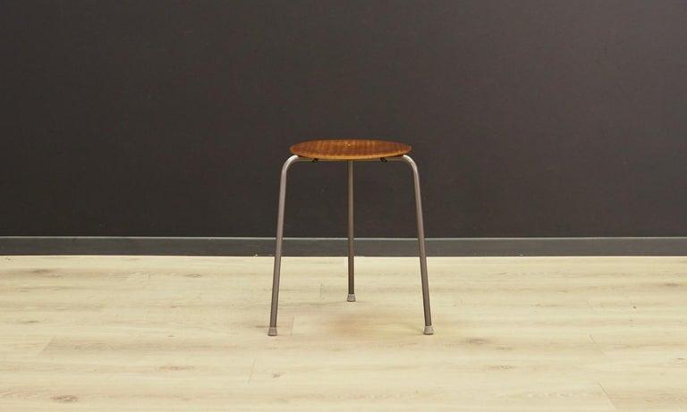 Scandinavian Classic Stool Danish Design, 1960-1970 For Sale