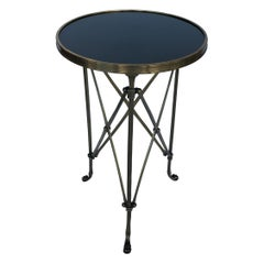 Classic Style Gueridon Side Table with Marmol Top