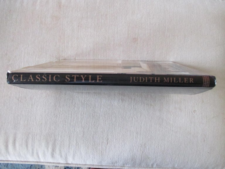 Classic Style Hardcover Book by Judith Miller In Good Condition For Sale In Wilton Manors, FL