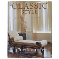 Classic Style Hardcover Book by Judith Miller