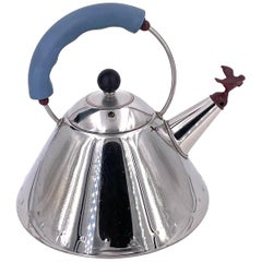 Classic Teapot Designed by Michael Graves for Alessi