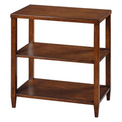 Classic Three-Tier Side Table